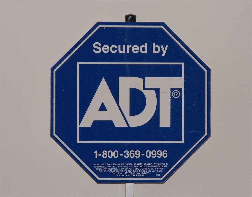 home security sign 28 images adt security window With kitchen cabinets lowes with adt signs and stickers