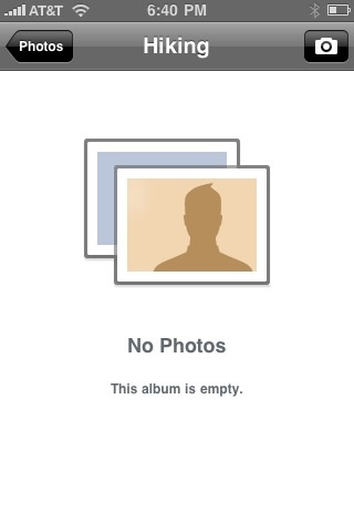 Facebook camera icon - iPhone - Picture - Image - Photo