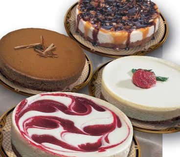 A Few Different Types Of Cheesecakes Picture Image