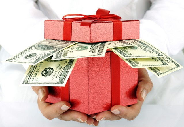 Собирать деньги на подарок 488
